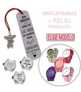 Pack MARCAPÁGINAS LOLITA + RELOJ PERSONALIZADO