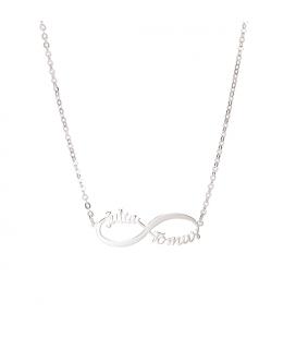 Collar infinito - PLATA DE LEY 925