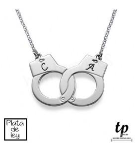 Collar esposas - PLATA DE LEY 925