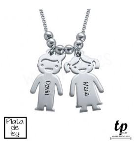 Collar niños/as - PLATA DE LEY 925