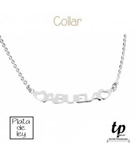Collar ABUELA - PLATA DE LEY 925