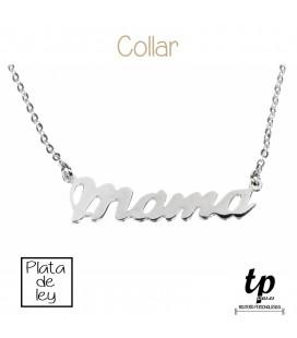 bfed287e0d50 Collar MAMÁ - PLATA DE LEY 925