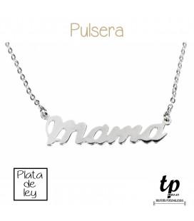 Pulsera MAMÁ - PLATA DE LEY 925