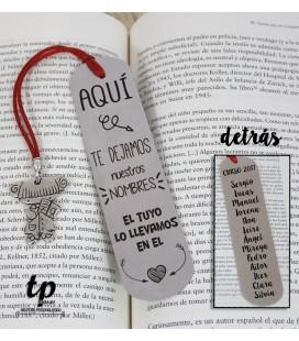 Marcapáginas lolita - AQUÍ TE DEJAMOS NUESTROS NOMBRES