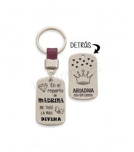 Llavero cuero  - MADRINA REPARTO