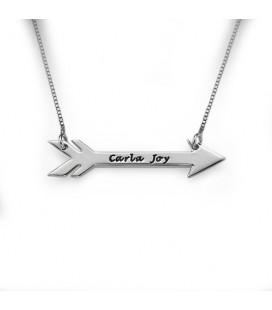 Collar flecha - PLATA DE LEY 925
