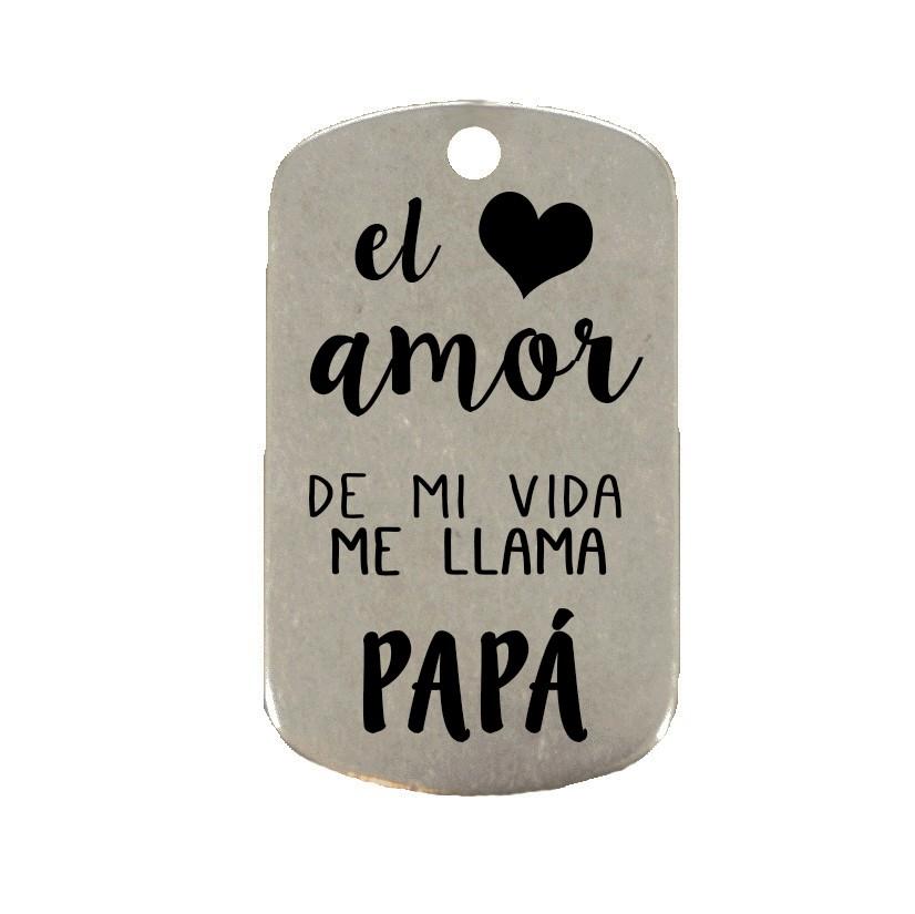 El amor de mi vida me llama papá