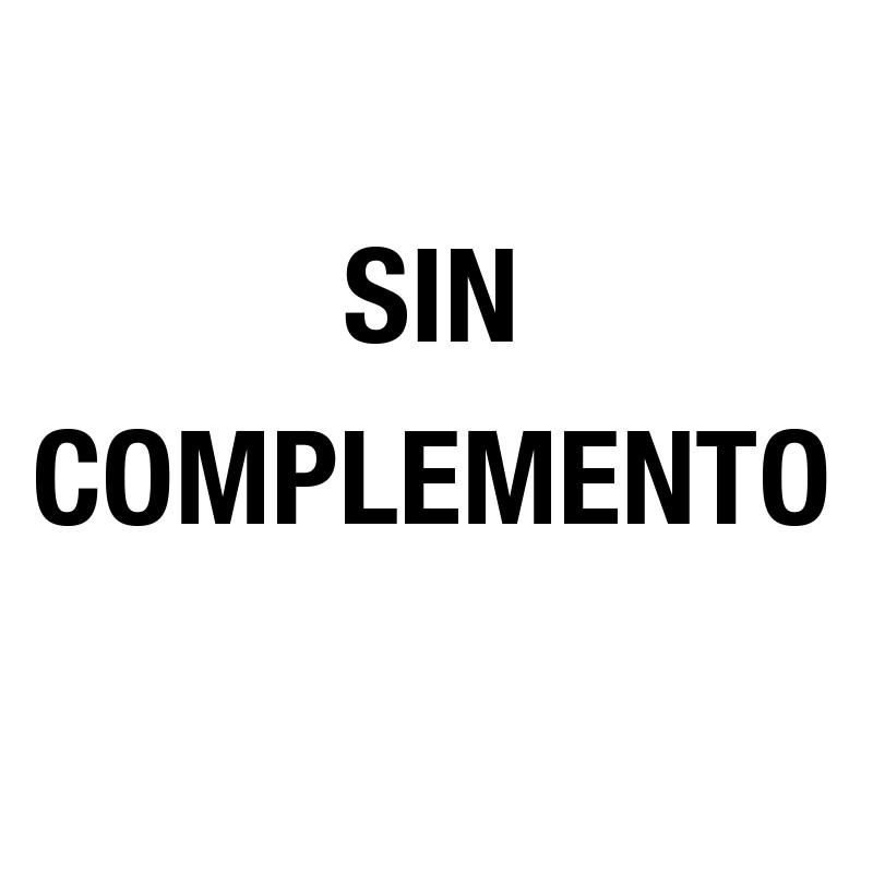 Sin complementos